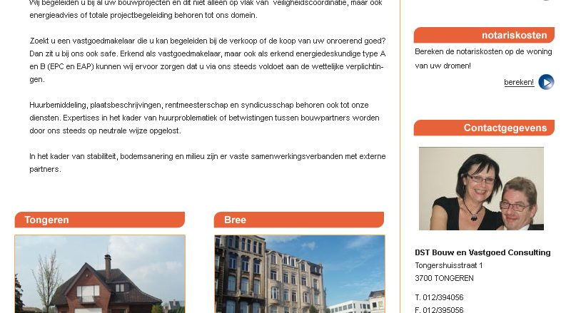 DST immobilien website